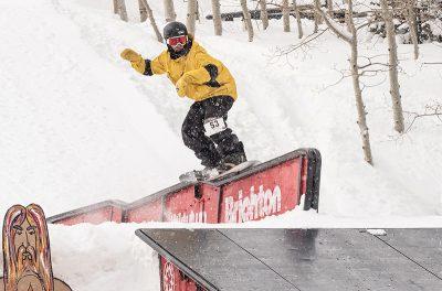 1st Place Men's Open Snow – Bryan Watson