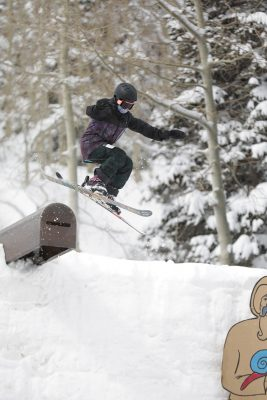 1st Place Women's Open Ski – Isabel Parada, transfer off the cannon