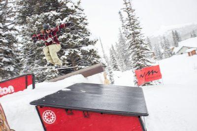 Winner of Men's Open Ski- Tucker Fitzsimons.