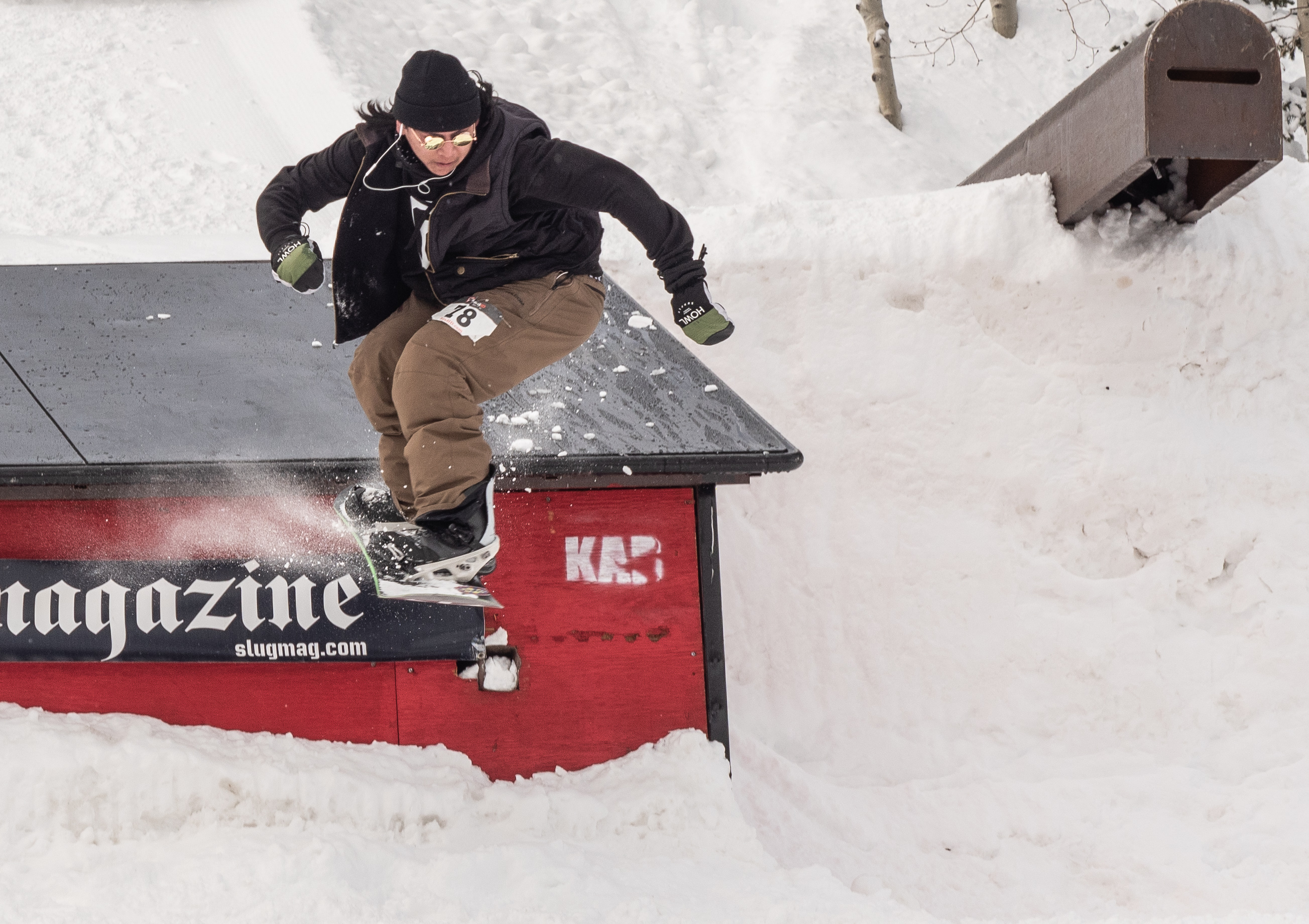 Jaromie Nolan during men's open snow.