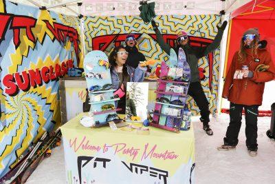 Carly Grzebinski, Chris Garcin, Matt Milewski, and Carol Jackson representin' Pit Viper sunglasses!