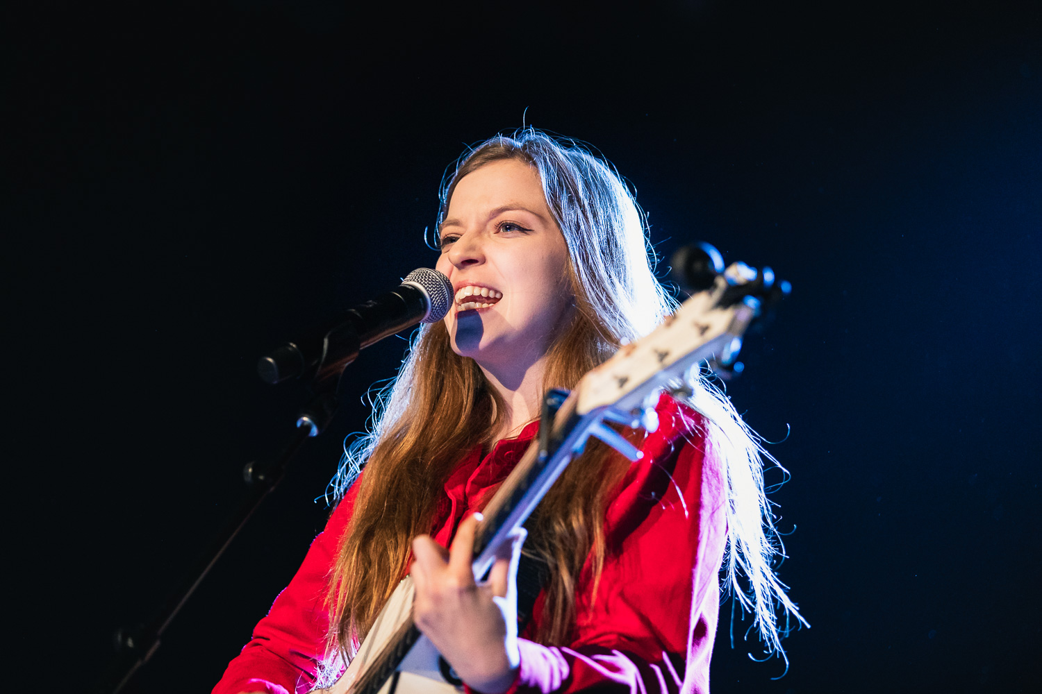 Supporting Hozier, Jade Bird from across the pond, playing in SLC. Photo: @Lmsorenson