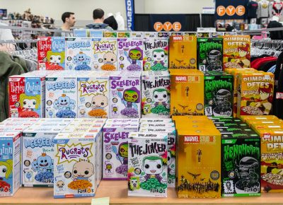 Even your favorite nerdy breakfast cereals can be found on the floor at Salt Lake Comic Convention's FanX19. Photo: @Lmsorenson