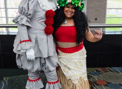 At FanX19, Cody and Edgar created an awesome Pennywise and Moana. Photo: @Lmsorenson