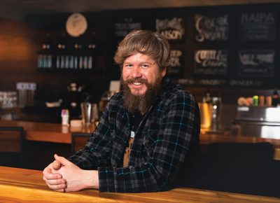 Chad Hopkins is the man behind Hopkins Brewing Co., Sugar House's newest spot to enjoy craft beer.