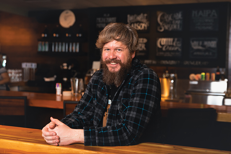 For the Love of the Craft: Chad Hopkins of Hopkins Brewing Co