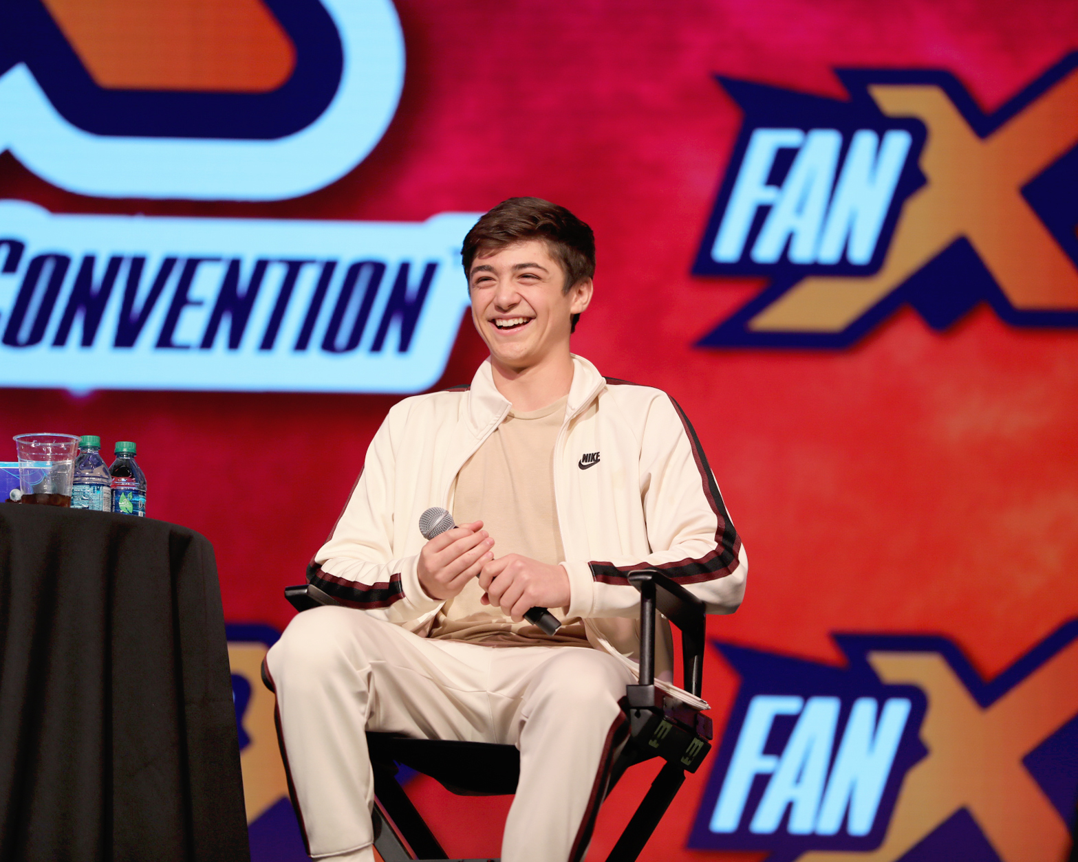 Actor Asher Angel of SHAZAM! talks being in the superhero world, which power he would choose as well as working with Zachary Levi on set. Photo: @Lmsorenson