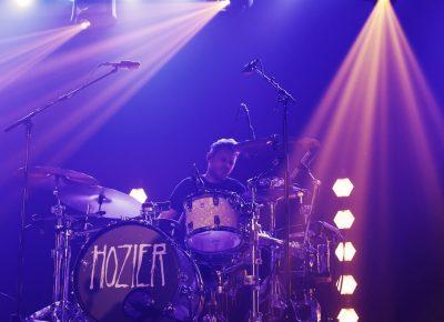 Drummer for Hozier keeping the beat. Photo: @Lmsorenson