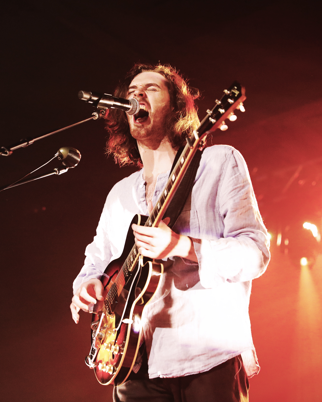 Hozier has such an overwhelming presence on stage. Photo: @Lmsorenson