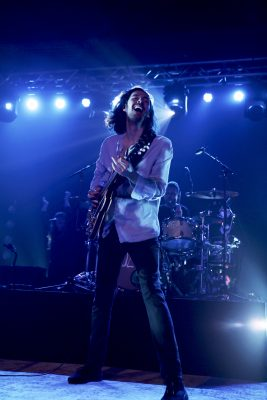 Hozier glowing from the energy in Salt Lake City. Photo: @Lmsorenson