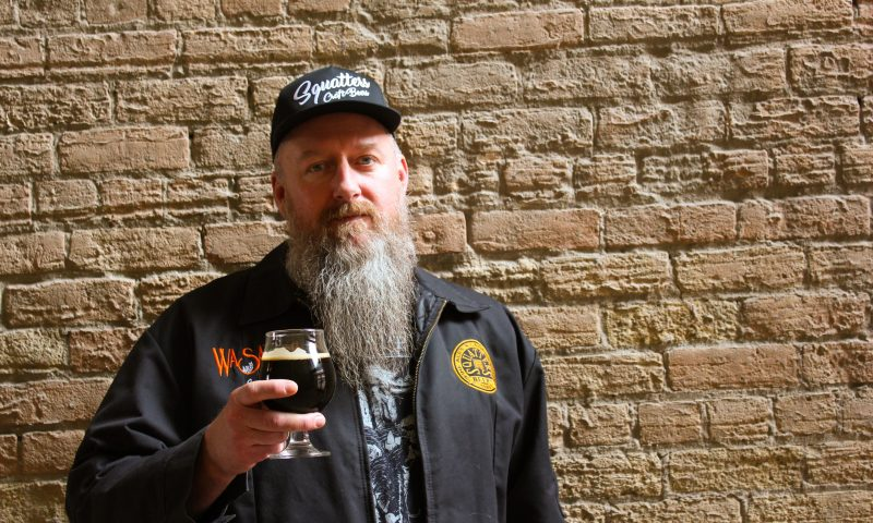 Jason Stock's preferred beer style is a good ol' Stout. Photo by Chris Hollands