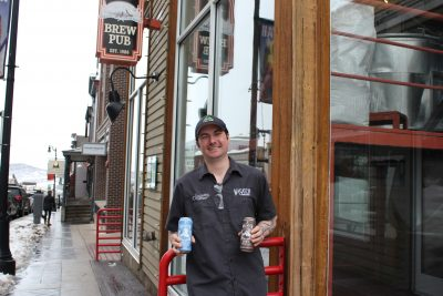 Head Brewer Nils Imbolden spearheaded Wasatch's Kick-Back Series, a small-batch, highpoint treat available at the Park City Wasatch Brew Pub.