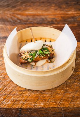 Pork Belly Bao. Photo: Talyn Sherer