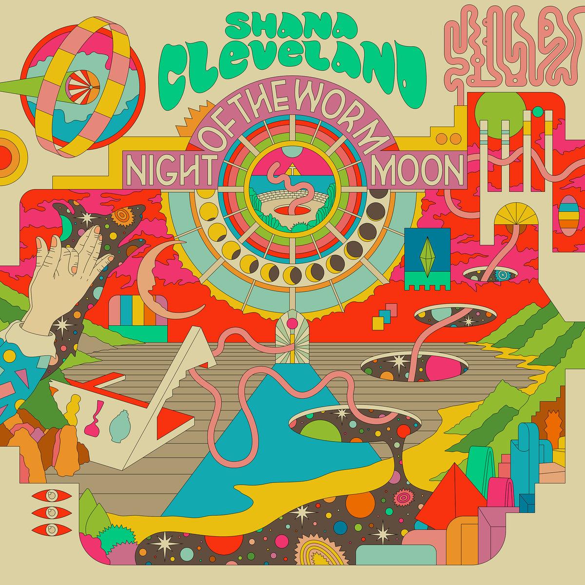 Shana Cleveland   Night Of The Worm Moon   Hardly Art