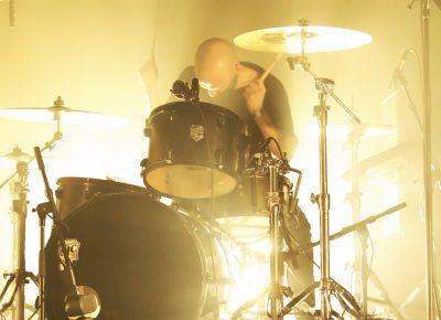 David Sandström, drummer for Refused. Photo: @Lmsorenson