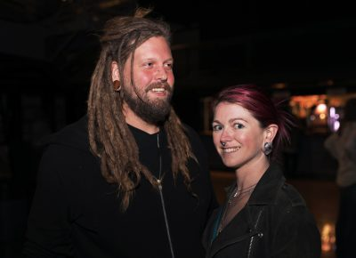 Matt and Laura arrived just in time for Refused at the Union Event Center in SLC. Photo: @Lmsorenson