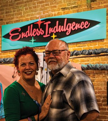 (L–R): Carrie and Richard Vondrus, owners of Endless Indulgence