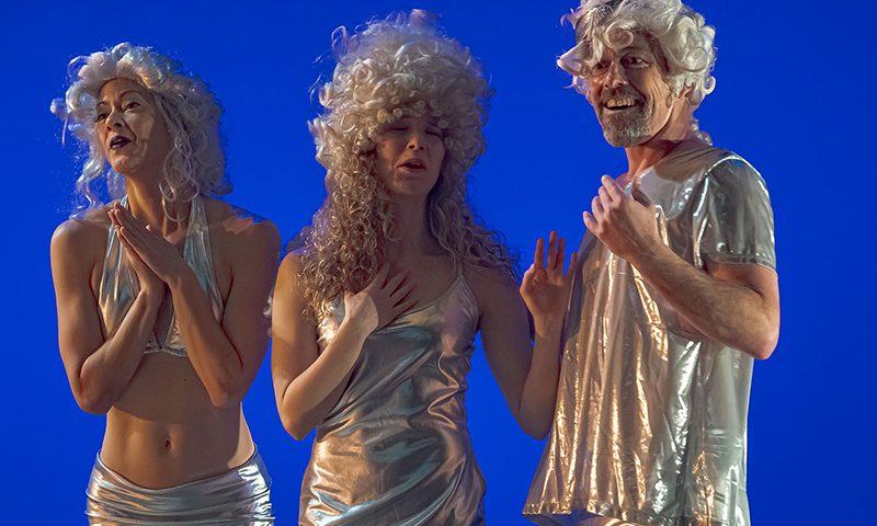 (L–R) Christine Hasegawa, Ari Hassett and John Allen as The Beauties in SB Dance's production of Sleeping Beauty