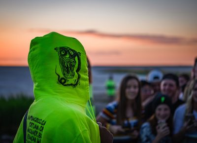 Neon green is one way to stand out and attract the attention of fans. Photo: Colton Marsala