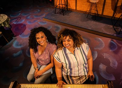 (L–R) Alicia and Camille Washington, owners and operators of Good Company Theatre, strive to bring diverse and eclectic productions to Ogden.