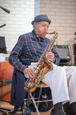 Inveterate Ogden-based saxophonist Joe McQueen recently celebrated his 100th birthday. He is locally renowned as a musician who helped end segregation in Ogden.