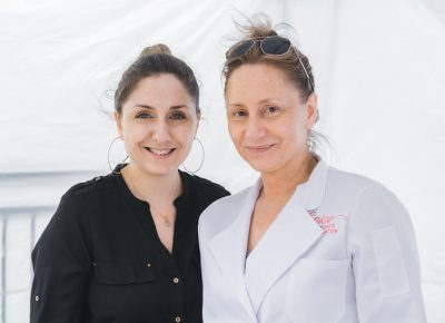 (L-R) Milena Nava and owner Karine Mnatsakanyan are the powerhouses behind the Russian-Armenian Spunik. Photo: Talyn Sherer