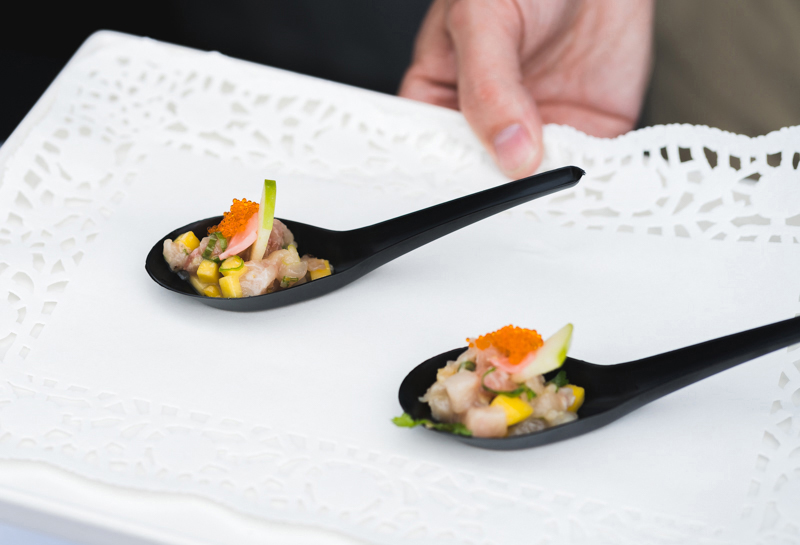 Tsunami Sushi served up a heaping spoonful of delicious ceviche.