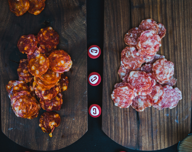 Creminelli meats are always a nice touch to any food event.