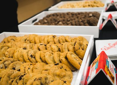 RubySnap gave the gift of cookies to all VIP attendees.