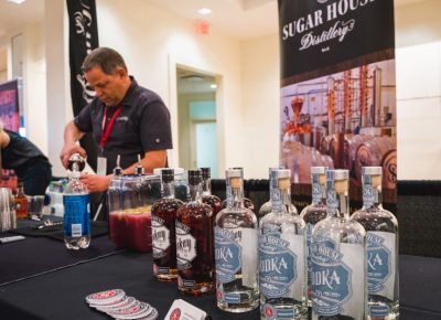 Sugarhouse Distillery talks vodka and whiskey with locals and visitors alike.