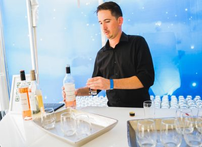 Celebrity Cruises gave us a taste of the sea life by sampling some of their house-made wines.
