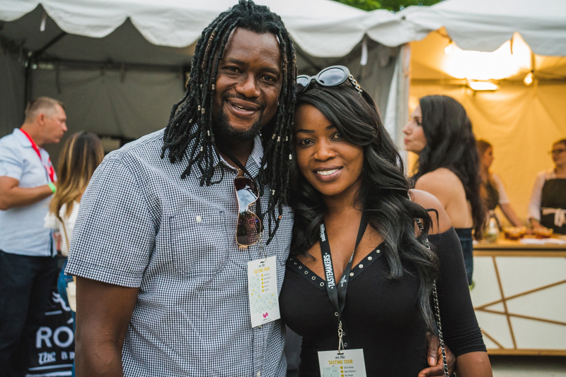 (L–R) King Ihenkoro and Irene Kanga had nothing but great things to say about this year's Tastemakers
