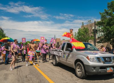 Without a doubt SLUG and SLC SLAY brought out the big guns to this years parade.