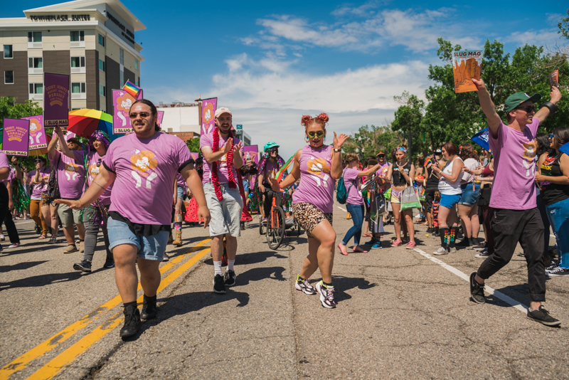 We hyped that crowd up something fierce as we paraded our way through downtown SLC.