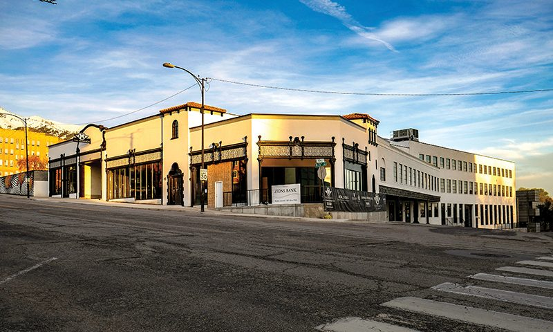 The Monarch was built out of 1920s parking garage that was purchased for the project in 2011.