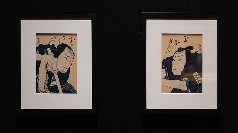 """Konishi Hirosada, """"Osanago no Katakiuchi,"""" 1849."""