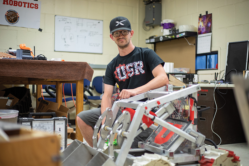 David Purcell of Utah Student Robotics