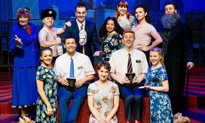 Cast of Salt Lake Acting Company's Saturday's Voyeur 2019.