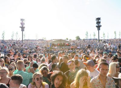 The happy crowd at Loveloud 2019.