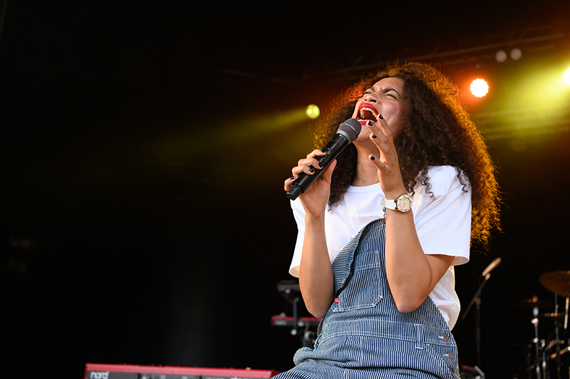 """Echoes of Ms. Lauryn Hill ring out as Nicole Bus performs her hit song """"You."""""""