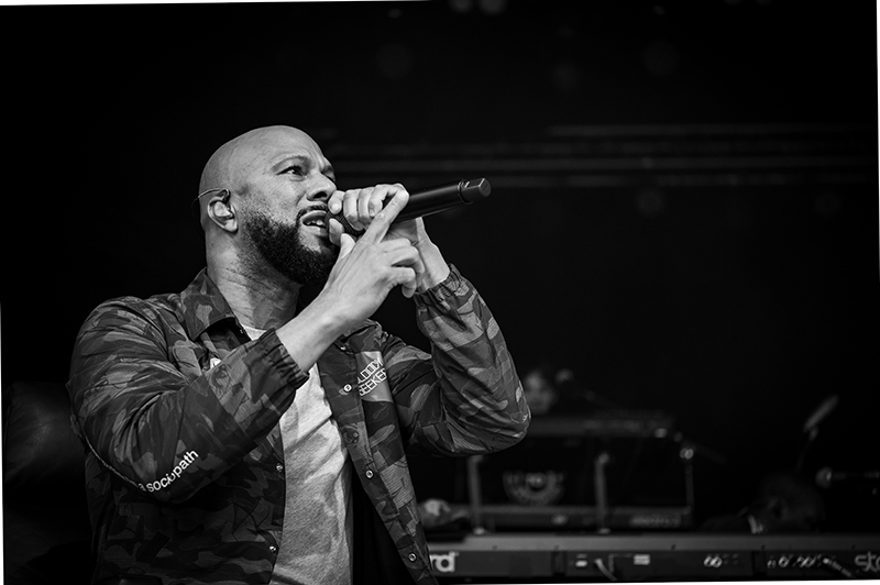 Common explains that, contrary to what it may seem, things aren't always black and white.