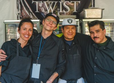 (L–R) Ruth Arevalo, Rick Bruno, Enrique Mondragon and David Tellez are the masterminds at Twist.