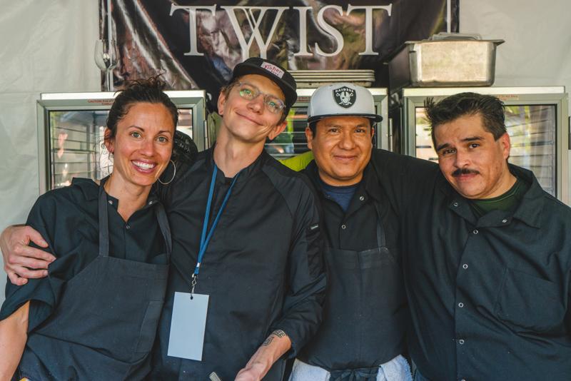 (L–R) Ruth Arevalo, Rick Bruno, Enrique Mondragon and David Tellez are the masterminds at Twist.