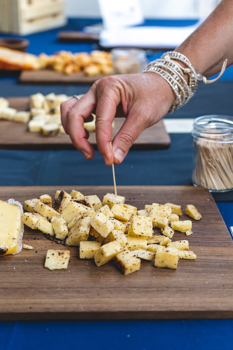 Beehive Cheese is always a perfect pairing with Eat Drink SLC.
