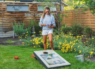 Need to sober up? Play some cornhole to help improve your accuracy.