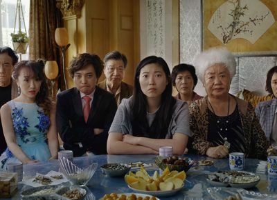 Cast from The Farewell.