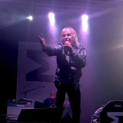Mike Peters of The Alarm on stage at the Complex