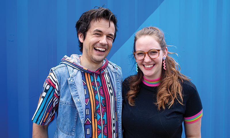 (L–R) Dane and Sara Goodwin of Goodies and Co.