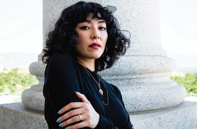 As a Japanese-Venezuelan solo singer and producer, Marina Marqueza strives to represent intersectionality through their music.