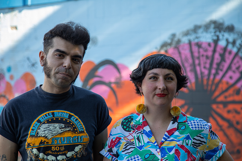 (L–R) Bruno Silva and Alex Gibson of Green Lion Eclectic.